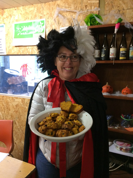 Recette Halloween : Cookies potimarron et raisins de Corinthe
